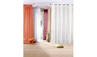 my home Gardine »REGINA«, Vorhang, Fertiggardine, transparent kaufen