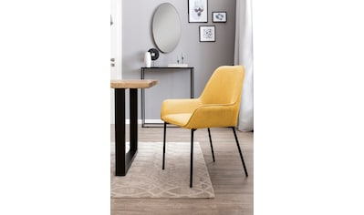 SalesFever Esszimmerstuhl, Bezug aus Strukturstoff, im 2er-Set kaufen