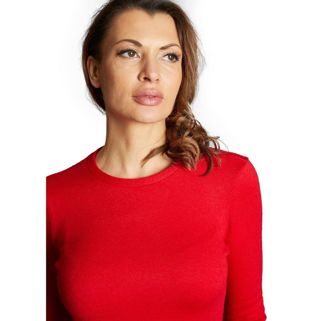 Nicowa Pullover in unifarbenem Design - BASINA