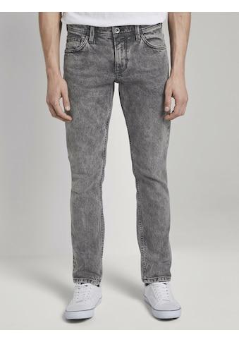 TOM TAILOR Denim 7/8-Jeans »Aedan Straight Jeans mit Schlüsselanhänger« kaufen