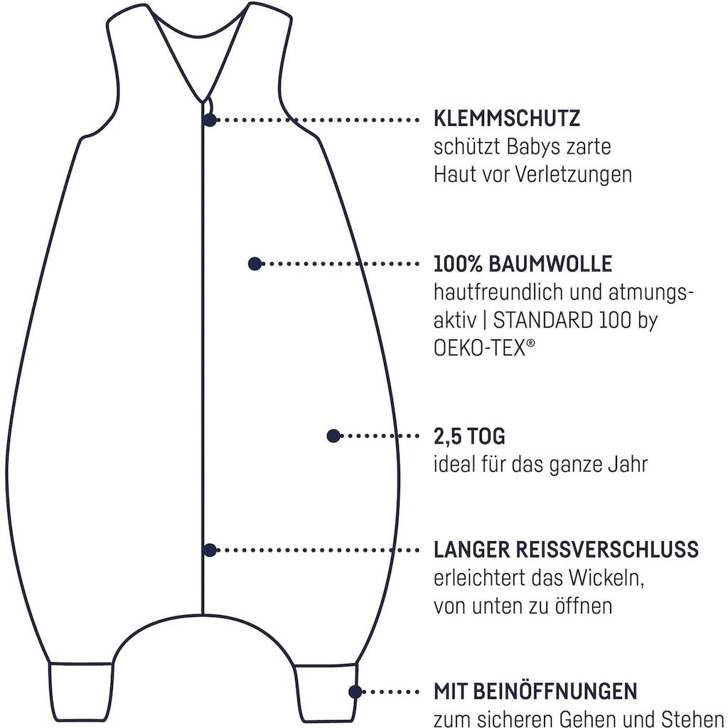Julius Zöllner Babyschlafsack, mit Beinen Jersey Jumper Colour Dots