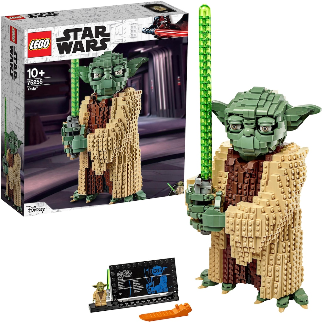 LEGO® Konstruktionsspielsteine »Yoda™ (75255), LEGO® Star Wars™«, (1771 St.), Made in Europe