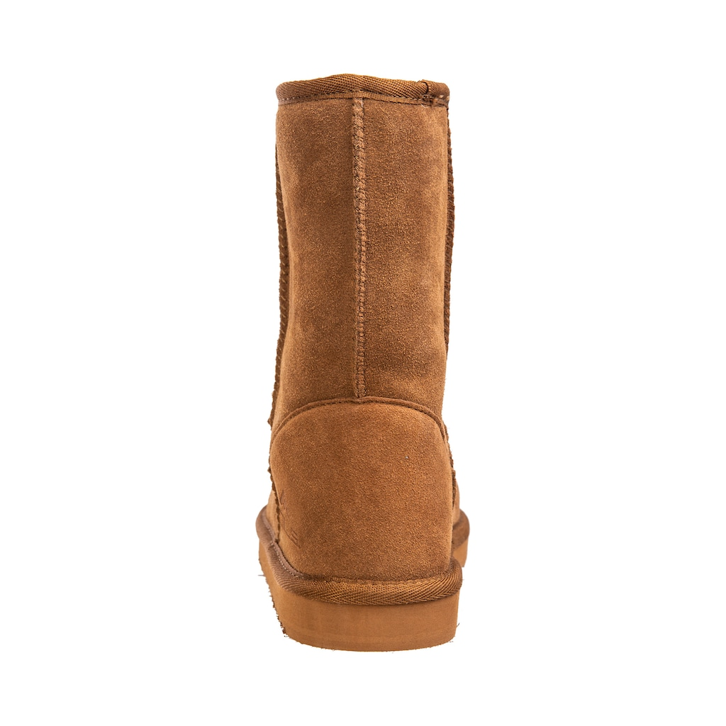 MOLS Stiefel »Tallulah W Leather«, mit kuschlig-warmem Innenfutter