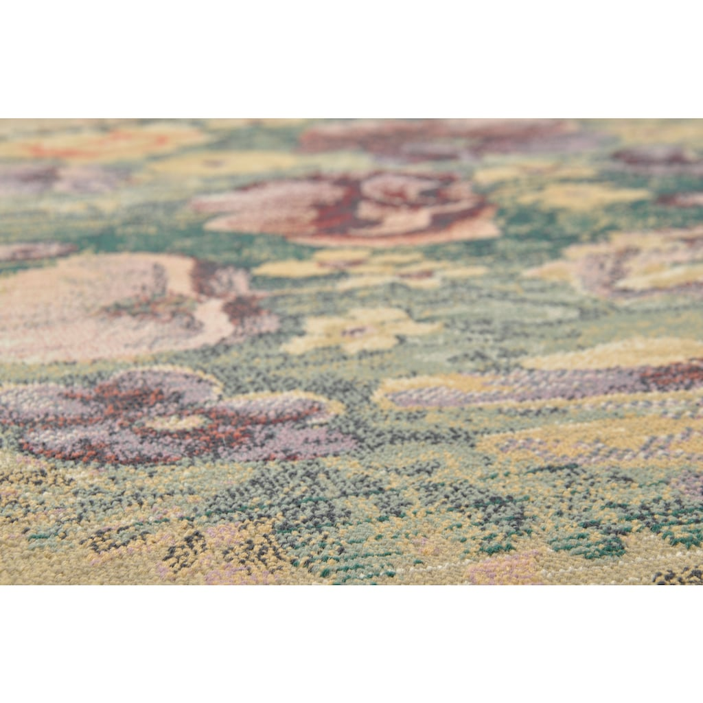 THEKO Teppich »Gabiro 72«, rechteckig, 10 mm Höhe, Orient-Optik, Vintage Design, Wohnzimmer