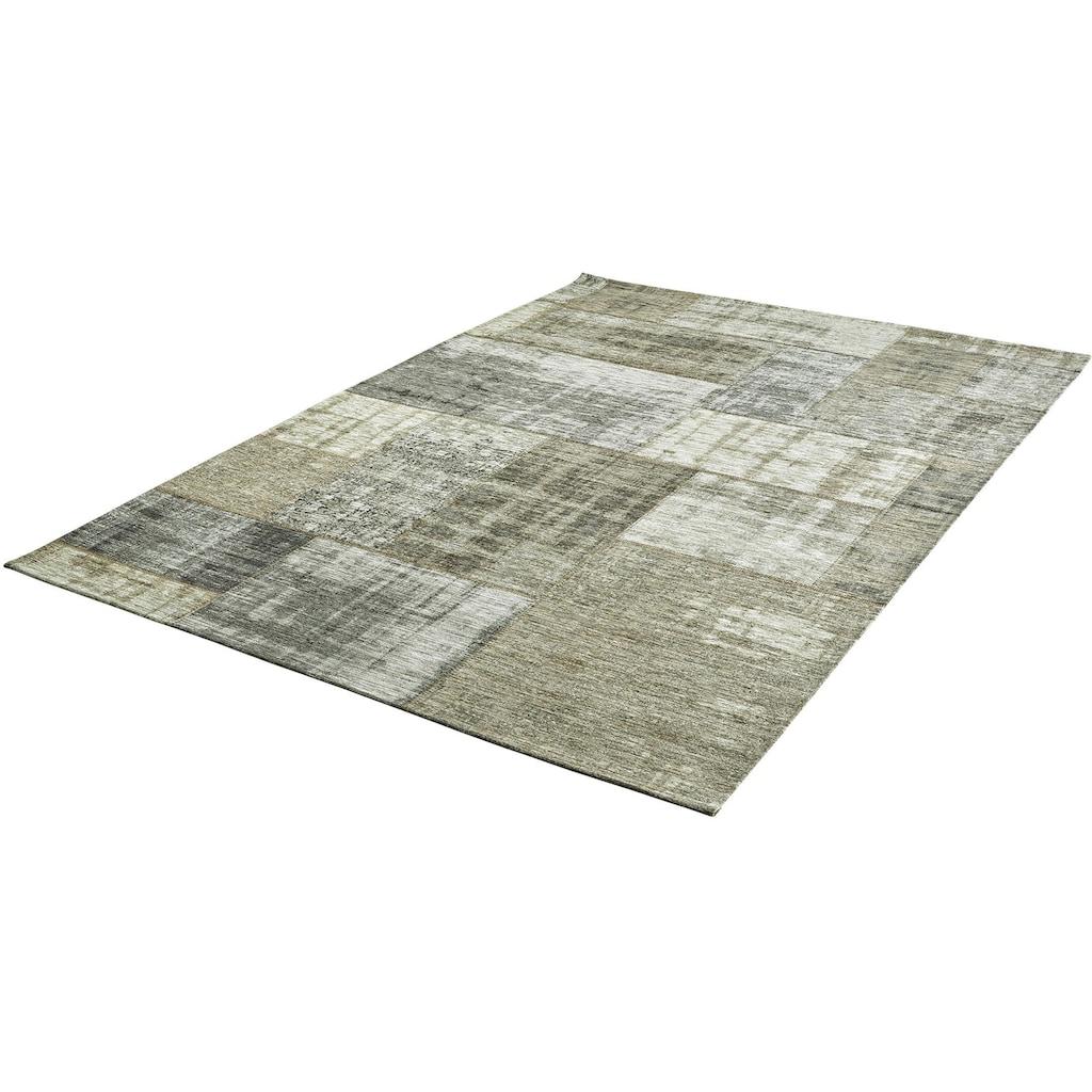 Obsession Teppich »My Gent 751«, rechteckig, 10 mm Höhe, Flachgewebe, Wohnzimmer