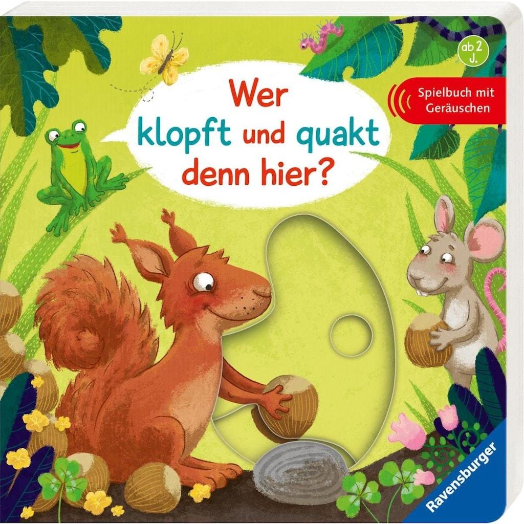 Ravensburger Buch »Wer klopft und quakt denn hier?«