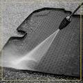 WALSER Passform-Fußmatten »XTR«, VW, Golf VII, Kombi-Schrägheck, (4 St., 2 Vordermatten, 2 Rückmatten), für VW Golf 7 BJ 2012 - heute
