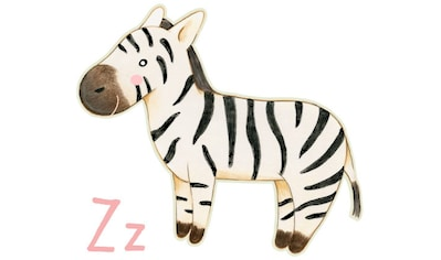 Wall-Art Wandtattoo »Zebra Buchstabe Z Tierwelt« kaufen