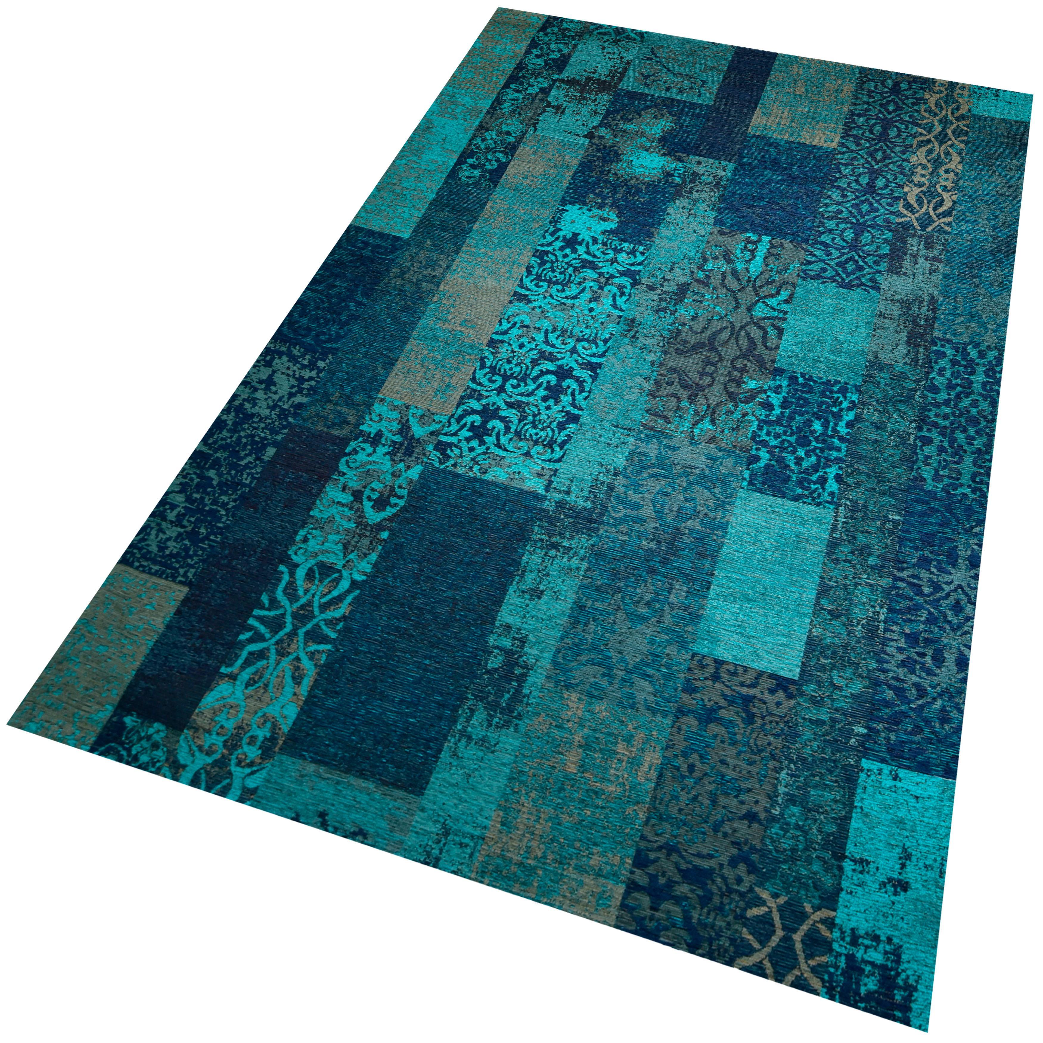 Teppich Marakesh 1001 merinos rechteckig Höhe 10 mm maschinell gewebt