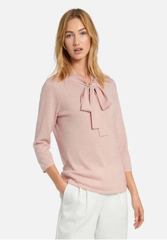 Uta Raasch Strickpullover »Pullover mit 3/4-Arm«, mit Schnürungen kaufen