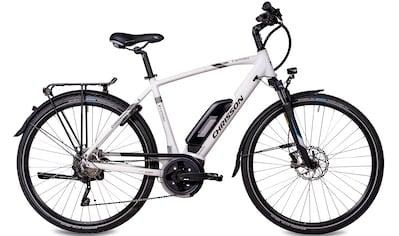 Chrisson E-Bike »E-ACTOURUS Herren«, 10 Gang, Shimano, Deore RD-T6000-SGS, Mittelmotor 250 W kaufen