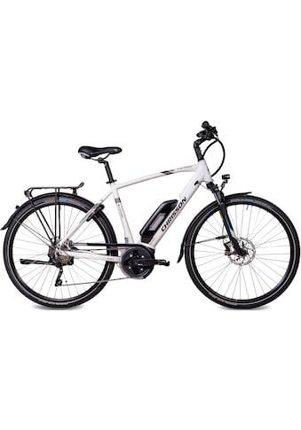 Chrisson E-Bike »E-ACTOURUS Herren«, 10 Gang, Shimano, Deore RD-T6000-SGS, Mittelmotor... kaufen