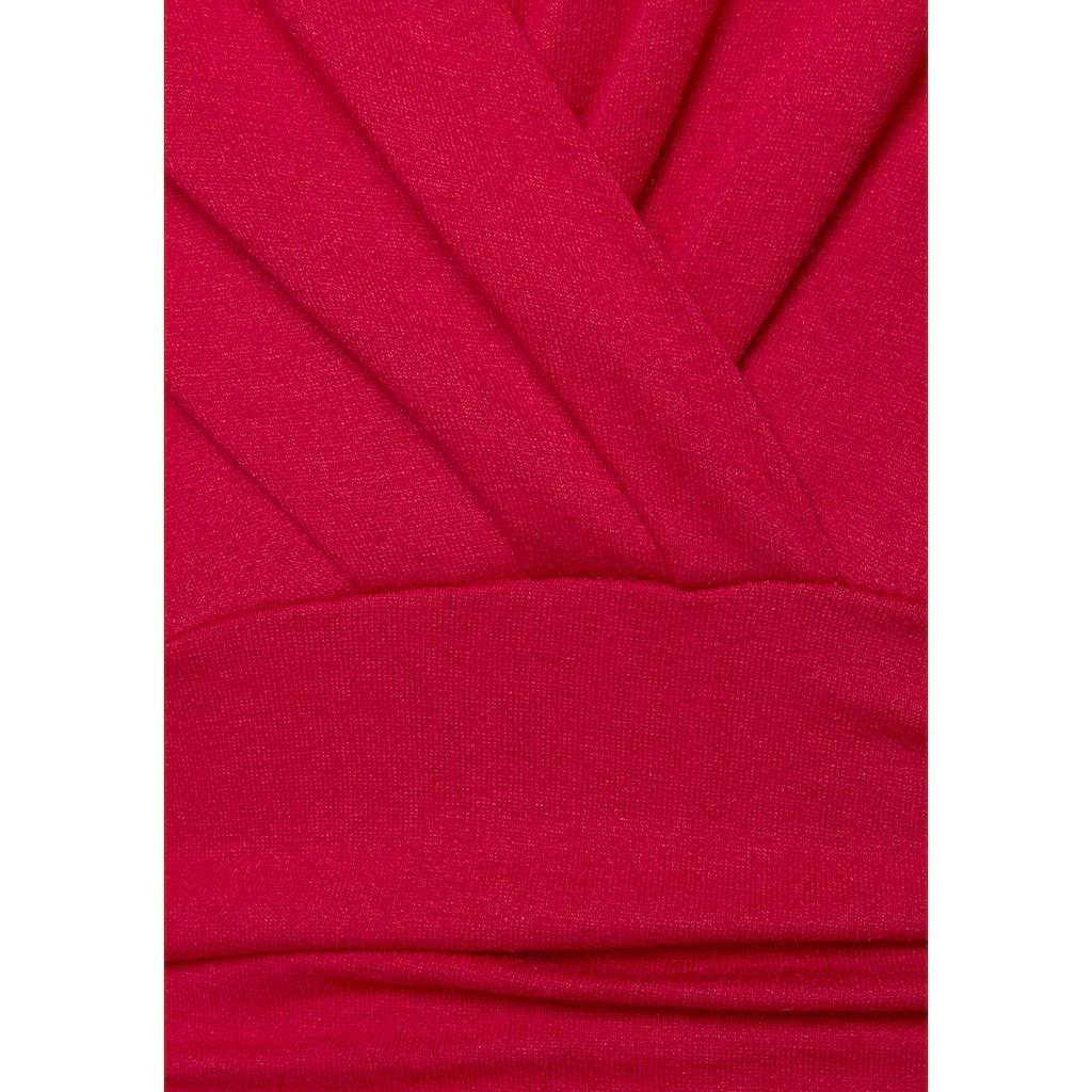 Vivance Jerseykleid, mit tollem Ausschnitt