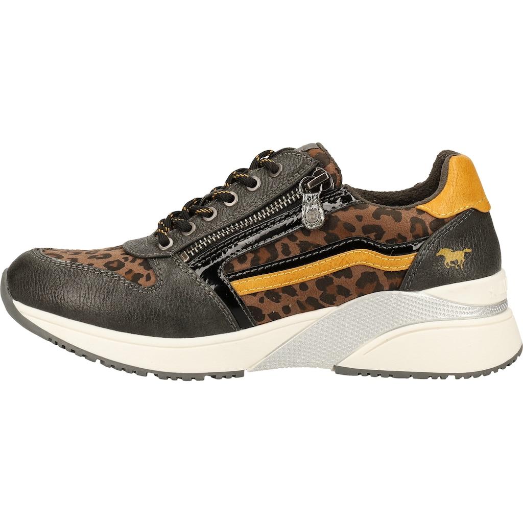 MUSTANG Sneaker »Lederimitat/Textil«