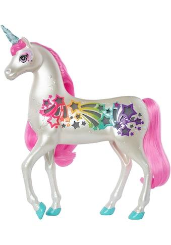 Mattel® Spielfigur »Barbie Dreamtopia Regenbogen-Königreich Magisches Haarspiel Einhorn« kaufen