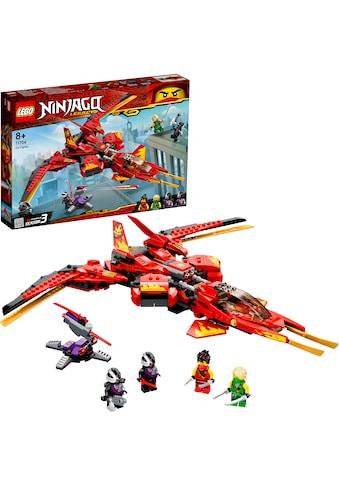 LEGO® Konstruktionsspielsteine »Kais Super-Jet (71704), LEGO® NINJAGO®«, (513 St.),... kaufen