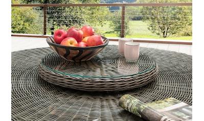 DESTINY Drehscheibe »Luna«, Polyrattan, Ø 58 cm, passend für Destiny Luna Tisch kaufen