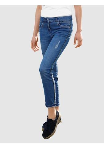 Dress In Skinny-fit-Jeans, mit Seitendetail kaufen