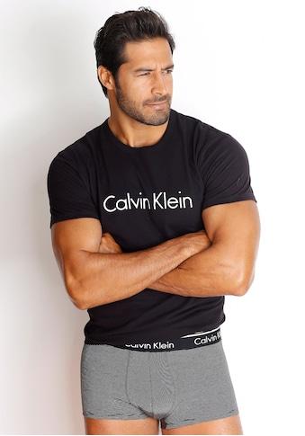 Calvin Klein Rundhalsshirt, mit Logodruck kaufen