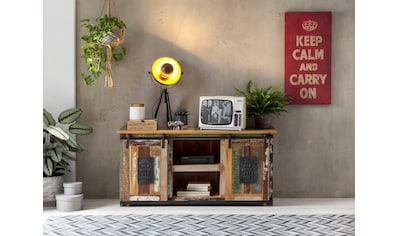 SIT Lowboard »Jupiter«, aus recyceltem Altholz, Breite 130 cm, Shabby Chic, Vintage kaufen