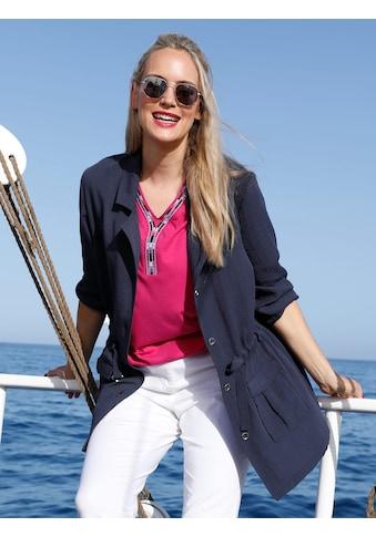 MIAMODA Blusenjacke, in sommerleichter Qualität kaufen