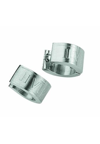 Adelia´s Paar Ohrstecker »Edelstahl Ohrringe / Creolen«, Edelstahlschmuck für Herren kaufen