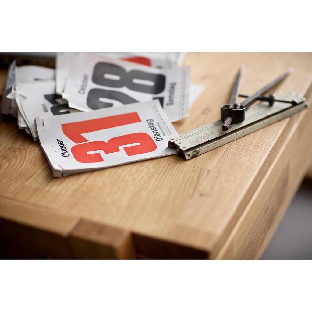 Home affaire Konsolentisch »Dura«, aus Massivholz, mit Soft-Close Funktion der Schubladen