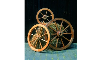 promadino Gartenfigur »Wagenrad«, BxLxH: 50x14x50 cm kaufen