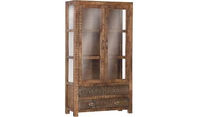 Gutmann Factory Vitrine »Oriental«, im Lodge-Stil kaufen