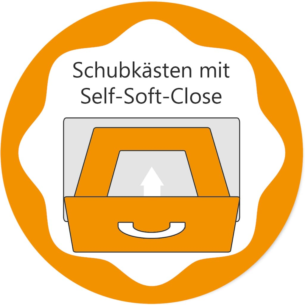 arthur berndt Babyzimmer-Komplettset »Til«, (Set, 3 St.), Made in Germany