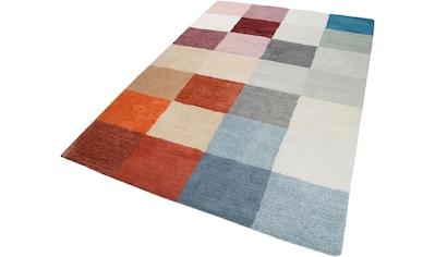 Teppich, »Loft Karo«, Esprit, rechteckig, Höhe 20 mm, handgetuftet kaufen