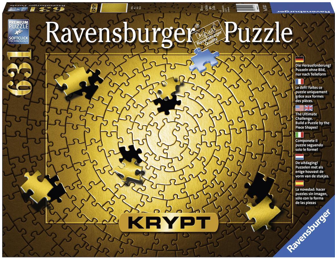 "Ravensburger Puzzle ""Krypt Gold"" 631 Teile Kindermode/Spielzeug/Gesellschaftsspiele/Puzzle/Puzzle"