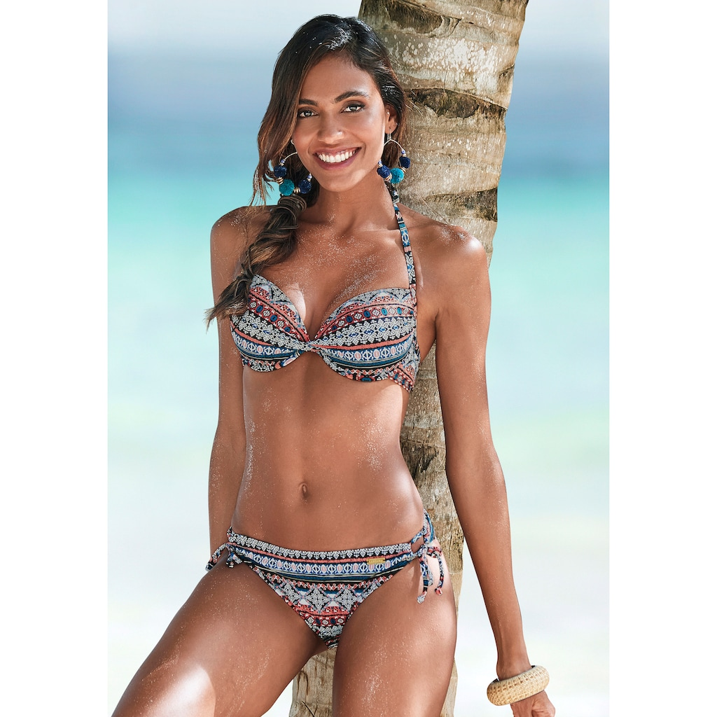 LASCANA Bikini-Hose »Marrakesh«, zum Binden