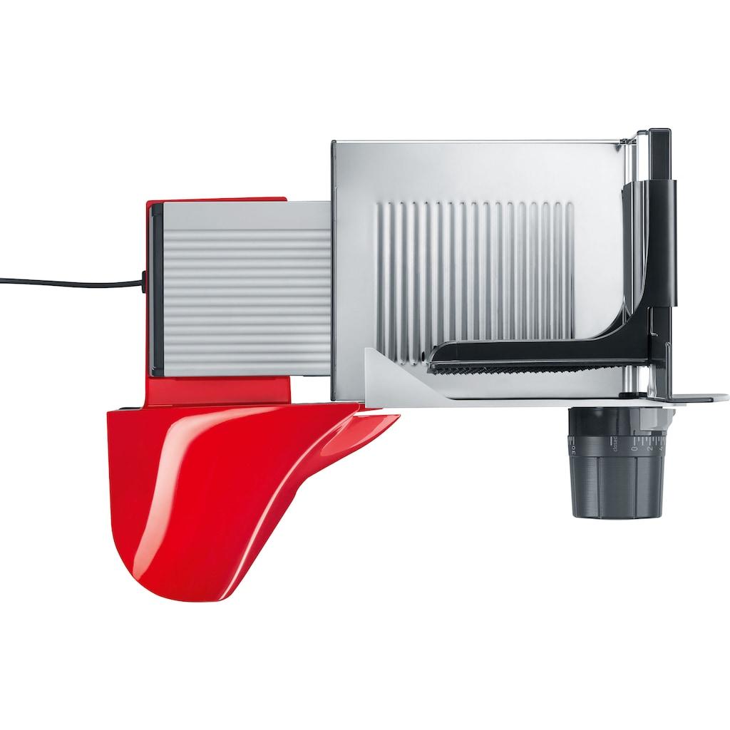 Graef Allesschneider »SlicedKitchen S 50003«, 170 W, inkl. Aufbewahrungsbox & MiniSlice-Aufsatz, rot