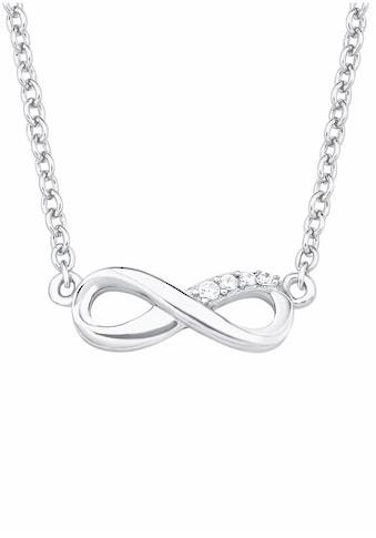 s.Oliver Silberkette »Infinity/Unendlichkeit, 2017245«, mit Zirkonia kaufen