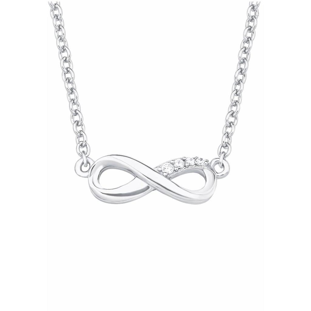 s.Oliver Silberkette »Infinity/Unendlichkeit, 2017245«, mit Zirkonia