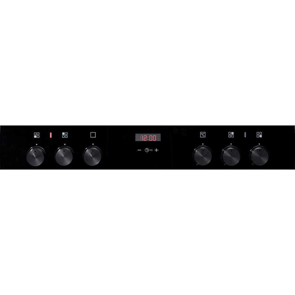SIEMENS Elektro-Herd-Set »EQ210KA00«, HE213ABR0, (Set), mit 3D-Heißluft