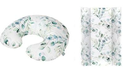 Rotho Babydesign Wickelauflage »Natural Leaves«, (Set, 2 tlg.), in Keilform; inklusive... kaufen
