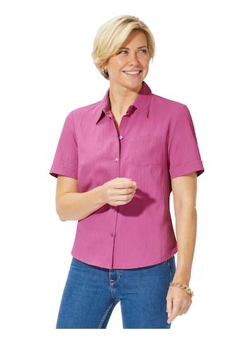 Classic Basics Bluse in leichter Seersucker - Qualität kaufen