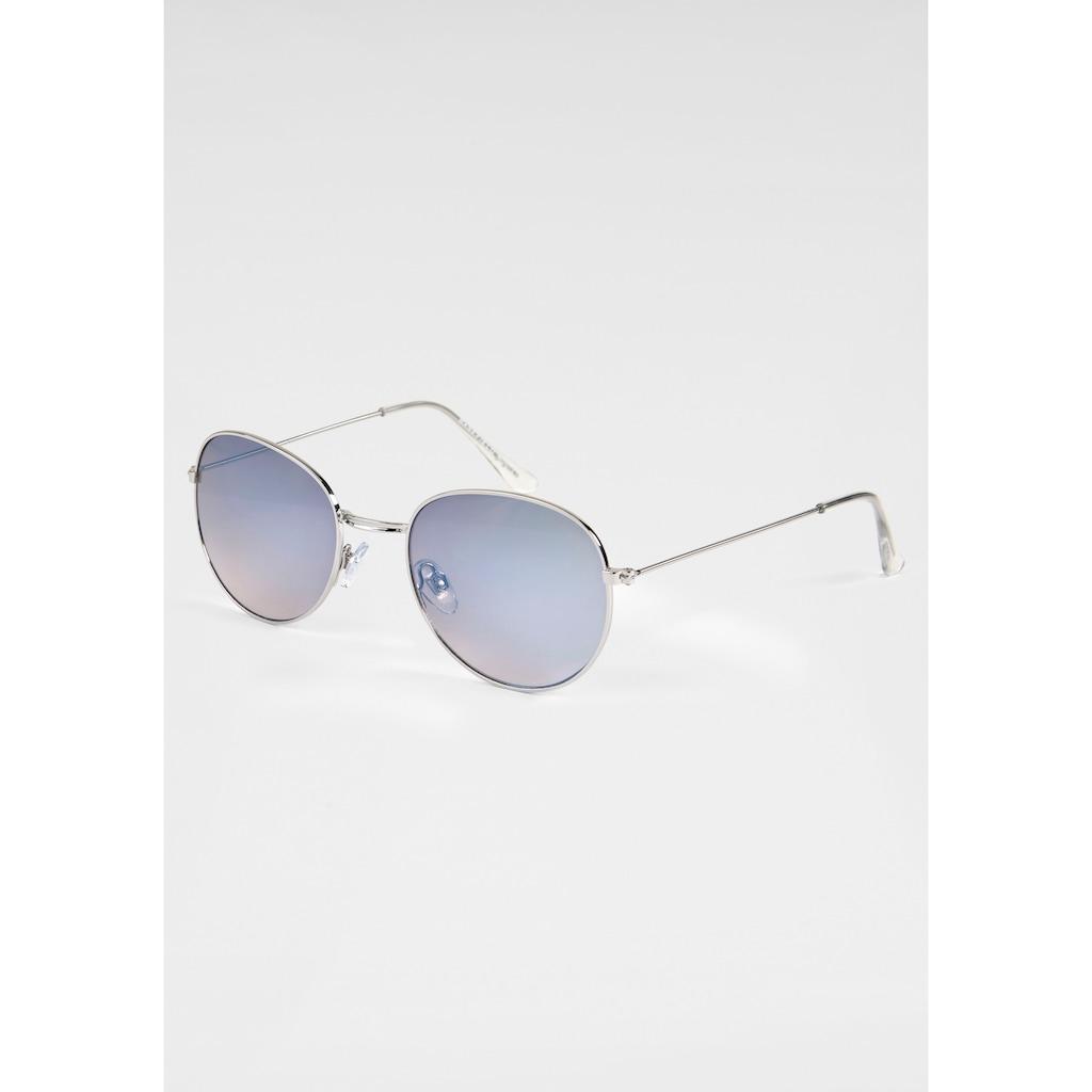 BASEFIELD Sonnenbrille, mit leicht verspiegelten Gläsern