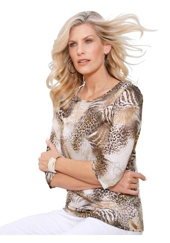 Classic Basics Shirt im auffallend schönen Animal - Dessin kaufen