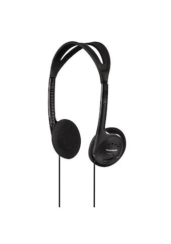 Thomson HED1115BK Kopfhörer, On - Ear, ultraleicht, Schwarz kaufen