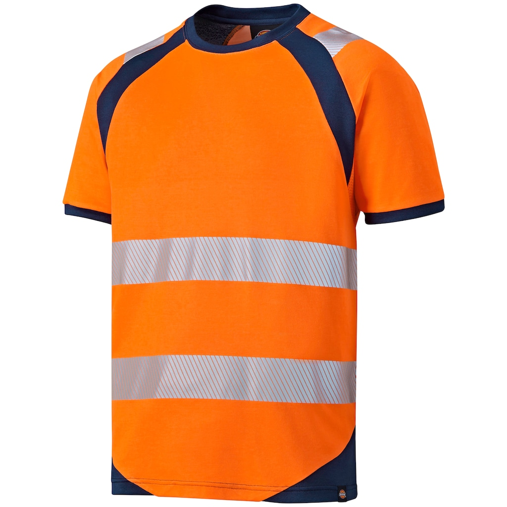 Dickies Warnschutz-Shirt »Hi-Vis«, mit Rundhals