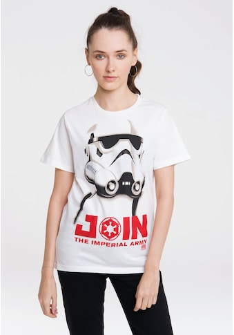 LOGOSHIRT T-Shirt »Stormtrooper - Join The Imperial Army«, mit lässigem Front-Motiv kaufen