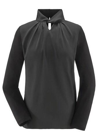 Lady Blusenshirt mit Schlitz kaufen