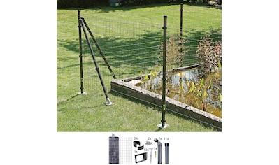 GAH Alberts Schweissgitter »Fix-Clip Pro®«, 81 cm hoch, 25 m, anthrazit beschichtet, mit Bodenhülsen kaufen
