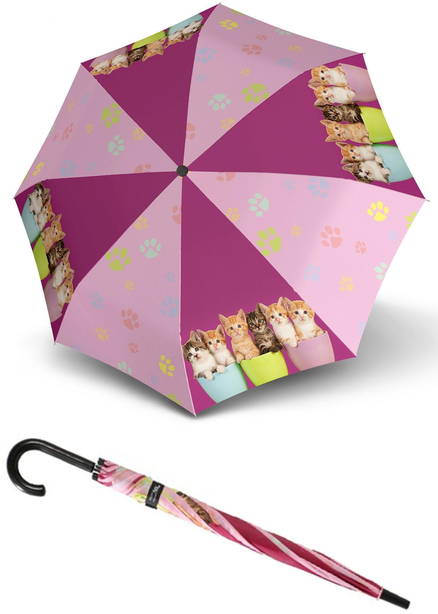doppler Stockregenschirm Art Collection Jugend Cats   Accessoires > Regenschirme > Sonstige Regenschirme   Doppler