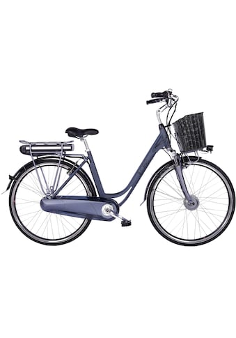 LLobe E-Bike »Black Motion 2.0, 15,6Ah«, (mit Fahrradkorb) kaufen