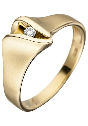 JOBO Diamantring, 585 Gold mit Diamant kaufen