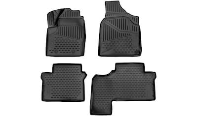 WALSER Passform-Fußmatten »XTR«, VW, Sharan, Großr.lim., (4 St., 2 Vordermatten, 2... kaufen